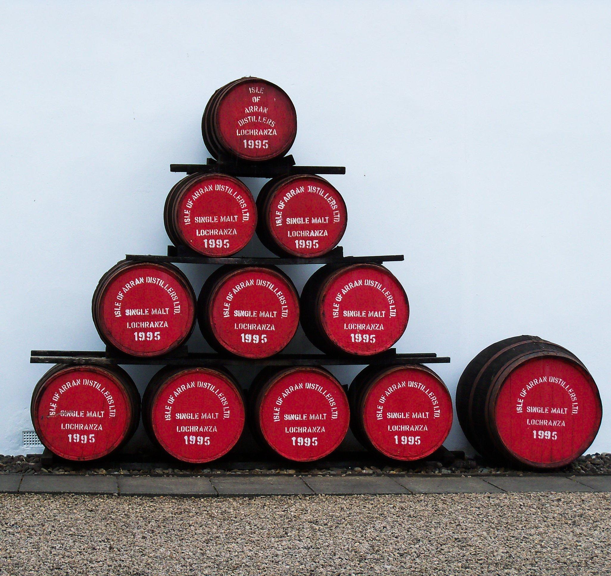 Barricas de Arran-Qué es el whisky?
