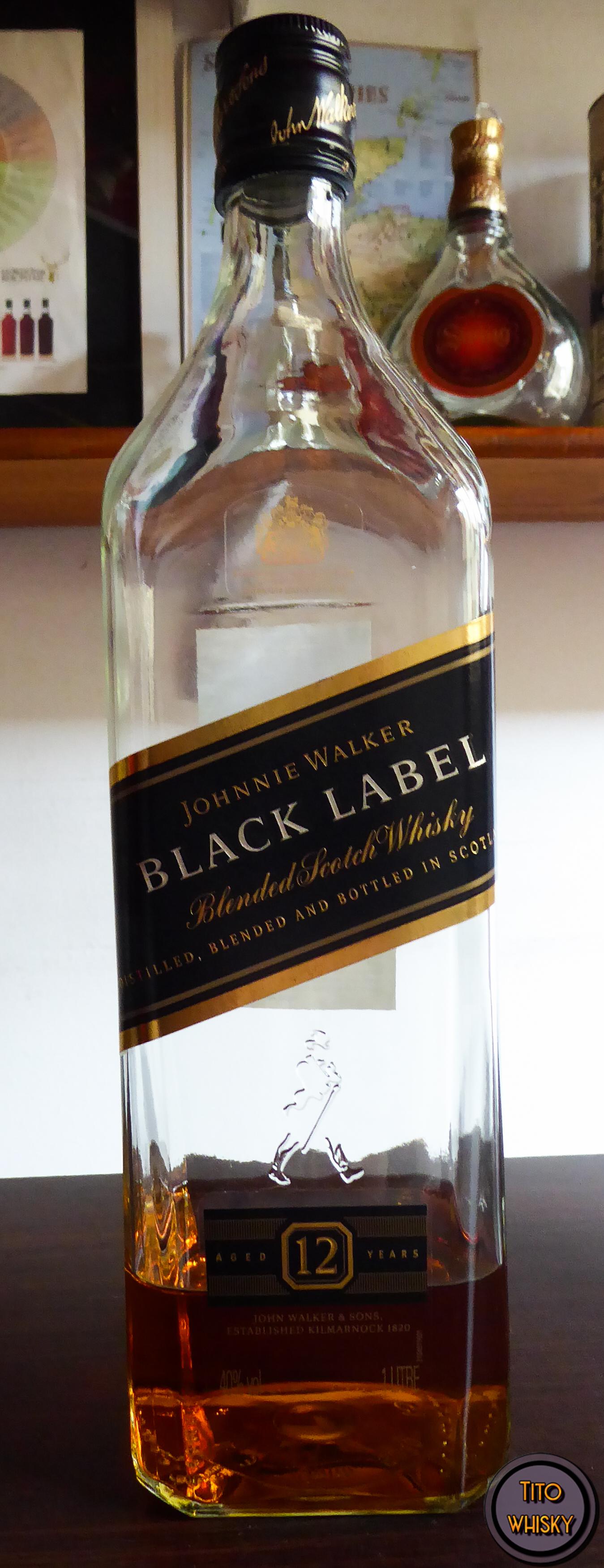 Botella de Johnnie Walker Black Label