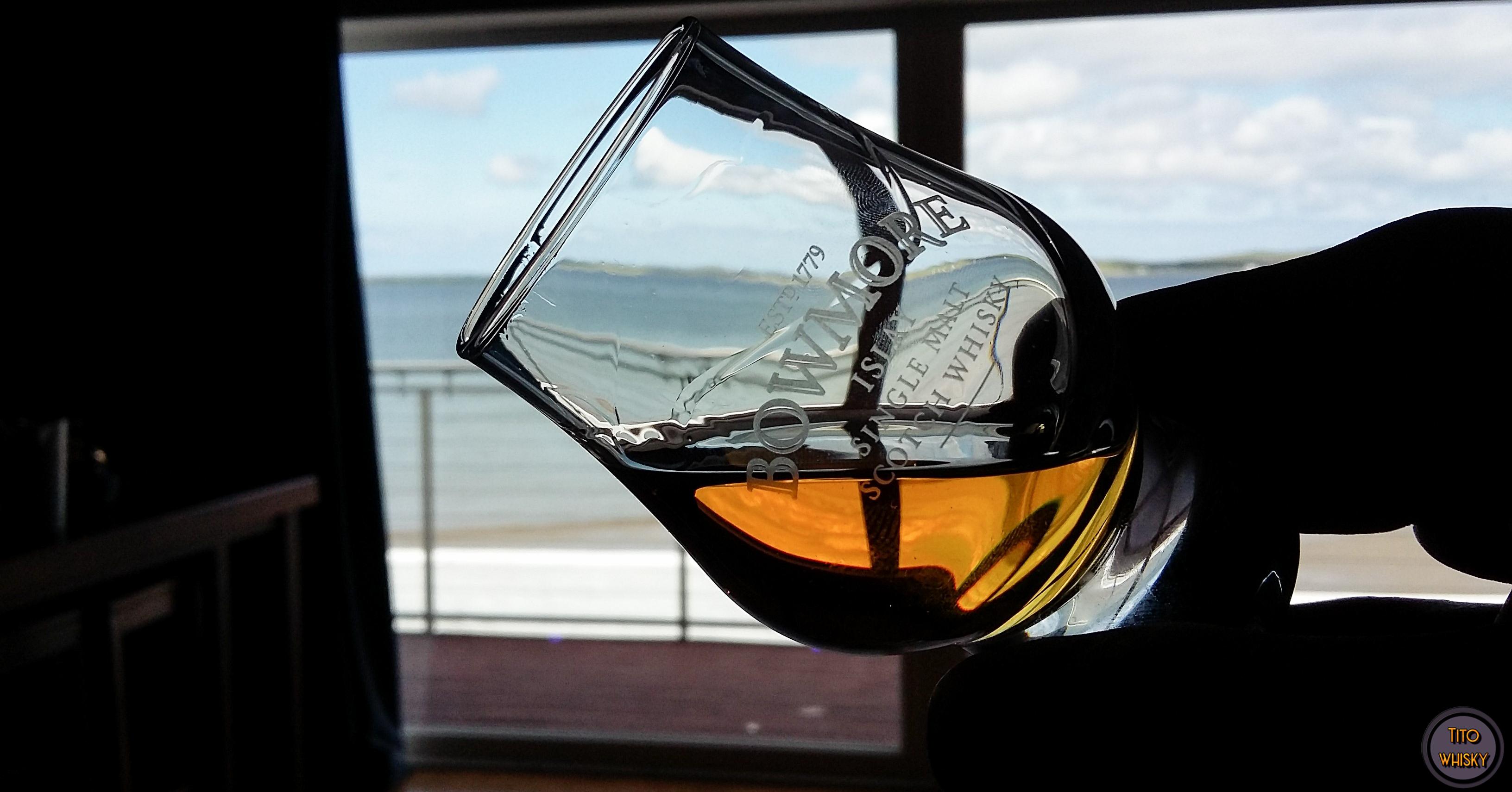 Degustación whisky Bowmore