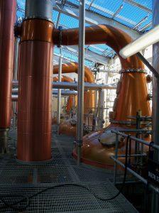 alambiques Glen Moray-Elaboración del whisky