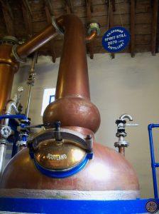 alambique de Kilchoman-Elaboración del whisky