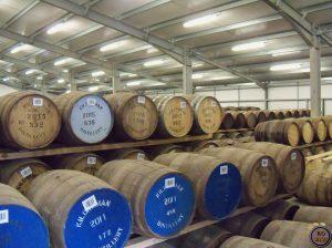 almacenes de Kilchoman-Elaboración del whisky