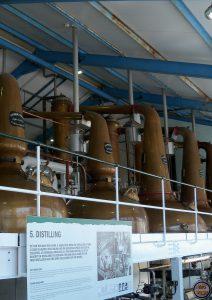 alambiques-Elaboración del whisky