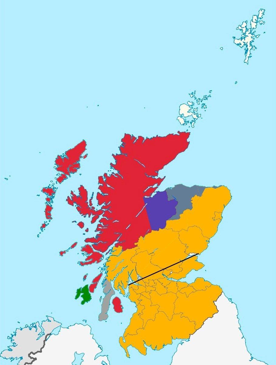Delimitación highlands y lowlands-Speyside