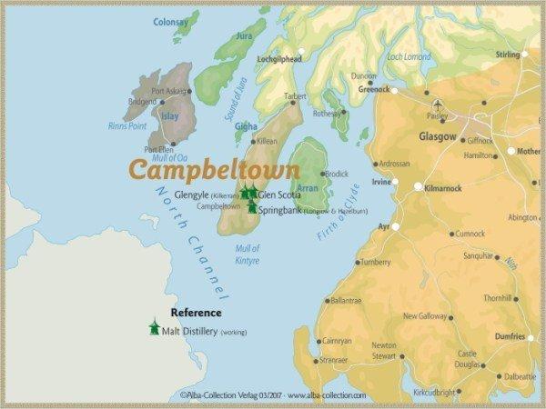 Campbeltown en escocia