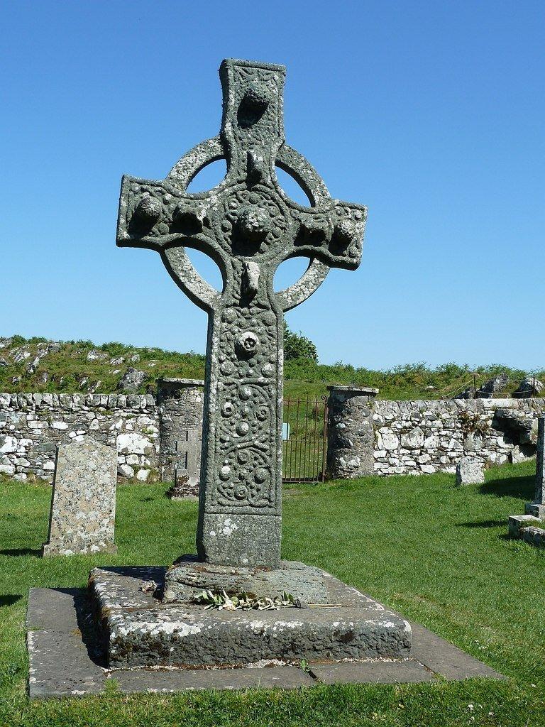 Kildalton high cross en Islay