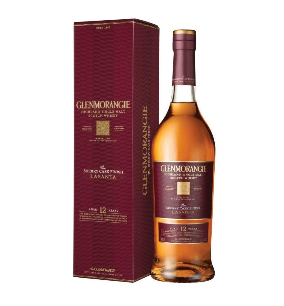 Glenmorangie lasanta finish en sherry cask
