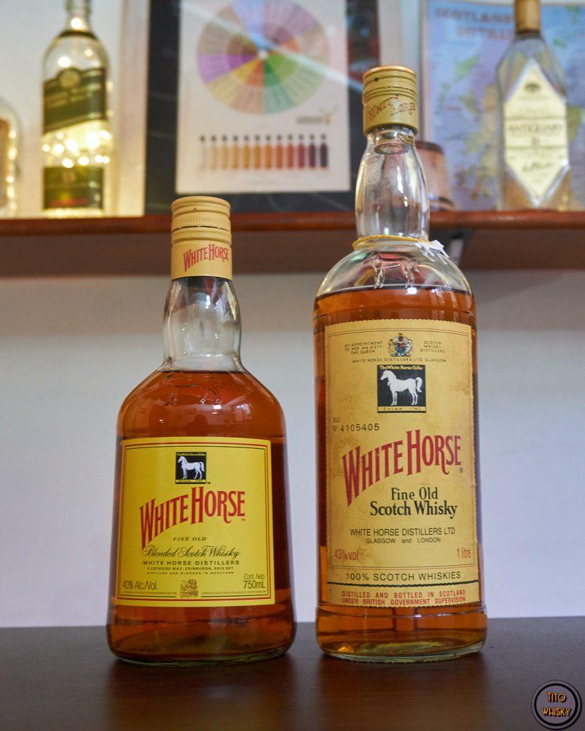 White Horse-Whisky antiguo
