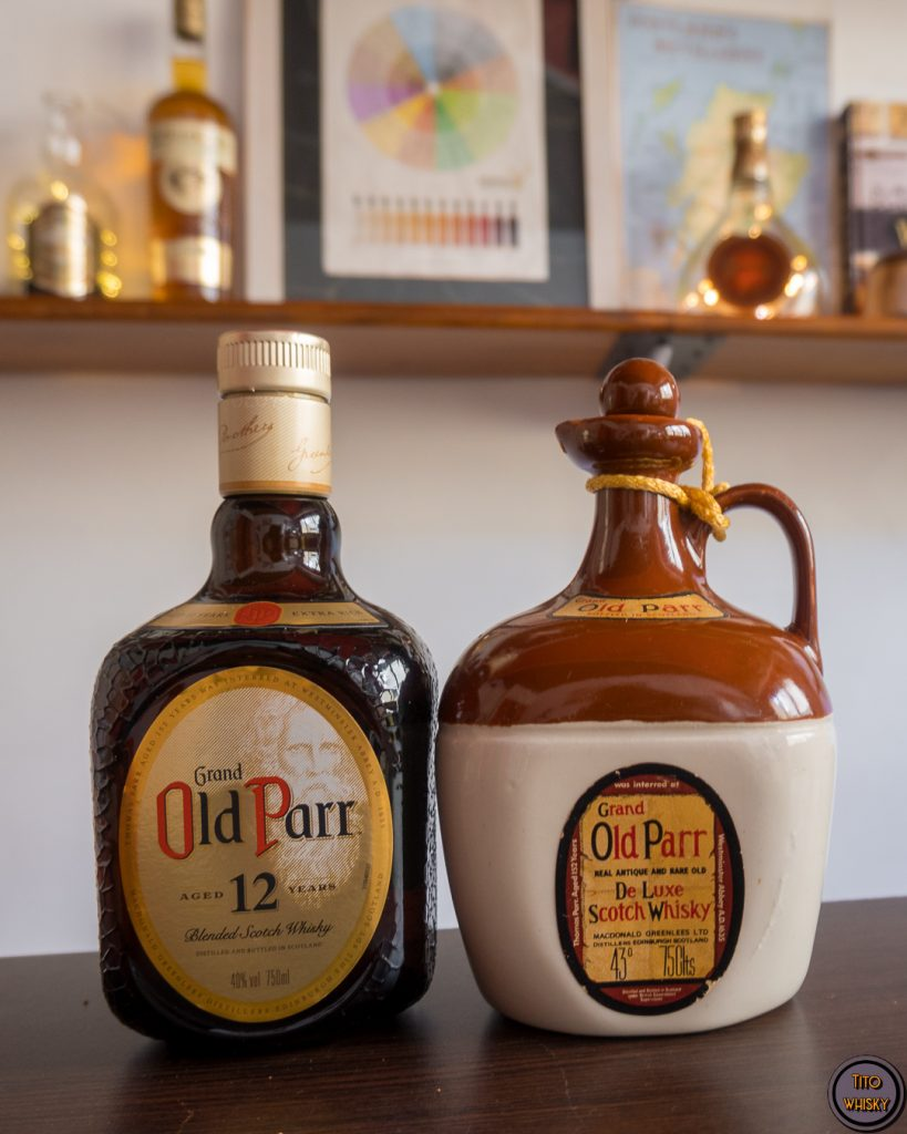 Grand Old Parr-Whisky antiguo