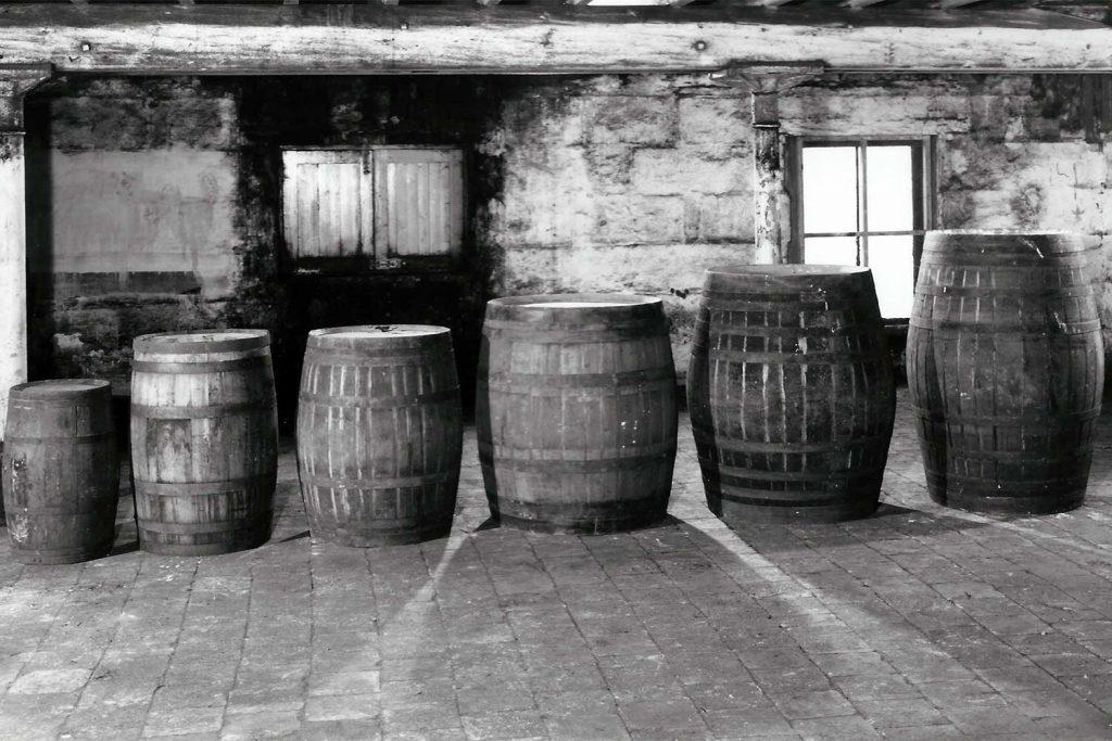 Tipos de barricas en Bruichladdich