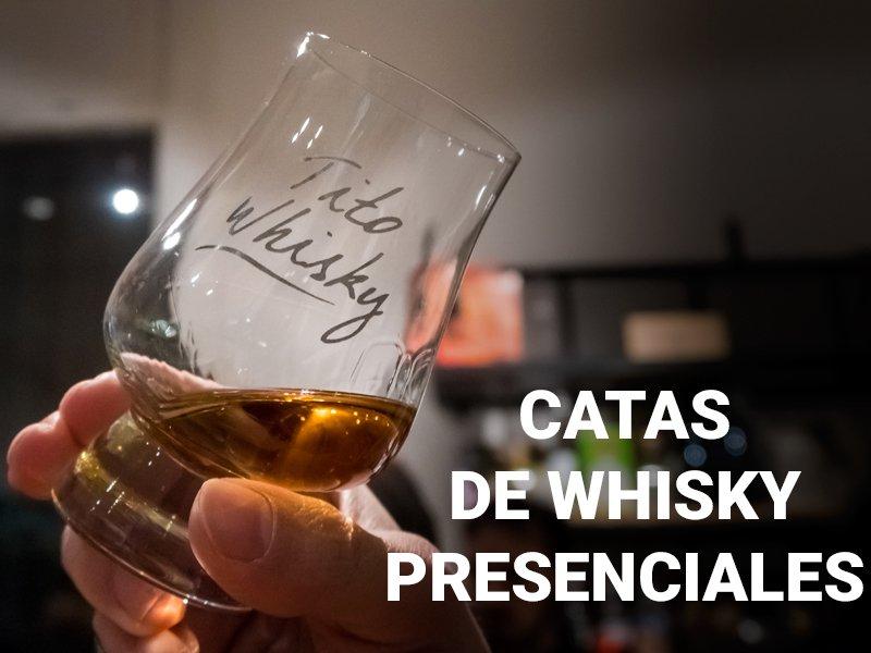 catas de whisky presenciales