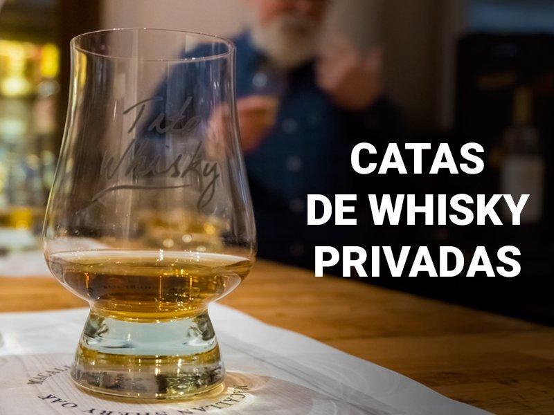 Catas de whisky privadas
